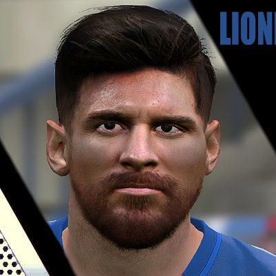 Messi v2 PES2017 by Jonathan