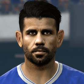 Diego Costa PES2017 by Boulbaba