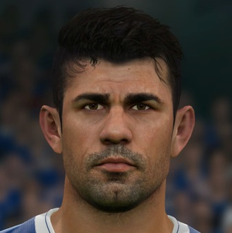 Diego Costa PES2017 by Sameh Momen