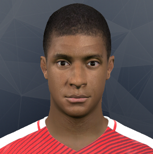Mbappe PES2017 by Kruptsev - PSG - France - Ligue 1 - Faces PES 2015