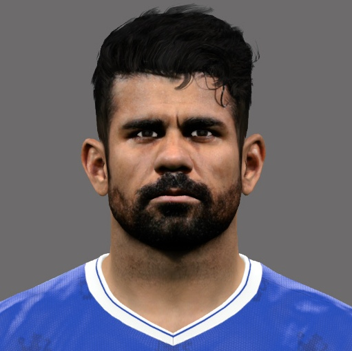 Diego Costa PES2017 by A.Mussoullini