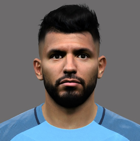 Aguero PES2017 by A.Mussoullini