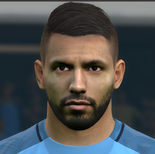 Aguero PES2017 by Boulbaba