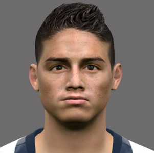 J. Rodriguez PES2017 by Jonathan