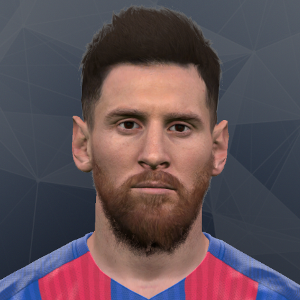 Messi PES2017 by Sinestro19