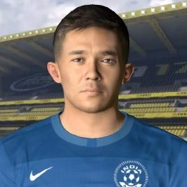 Sunil Chhetri PES2017 by The White Demon