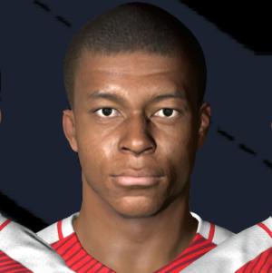 PSG - France - Ligue 1 - Faces PES 2015, PES 2016, PES 2017