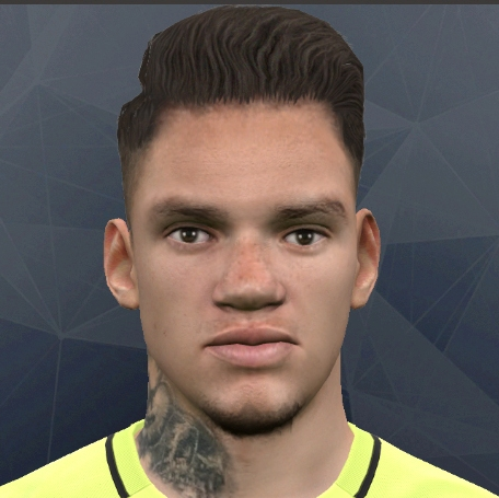 Ederson Moraes PES2017 by Alief