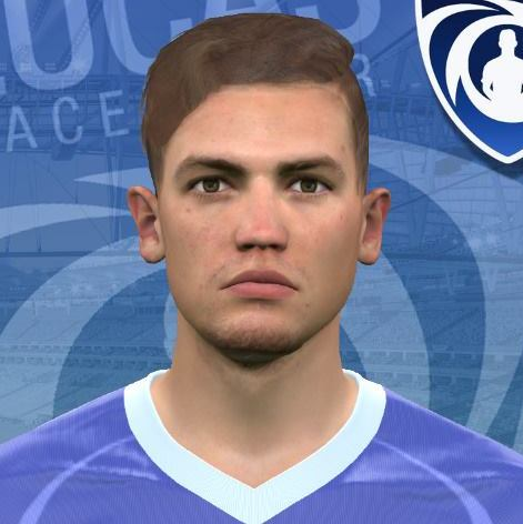 Sam Gallagher PES2017 by Lucas