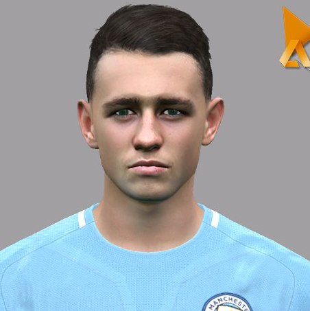 Phil Foden PES2017 by Nahue