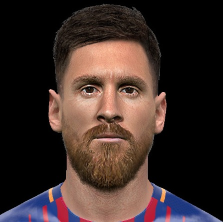 Messi v8 PES2017 by Jonathan