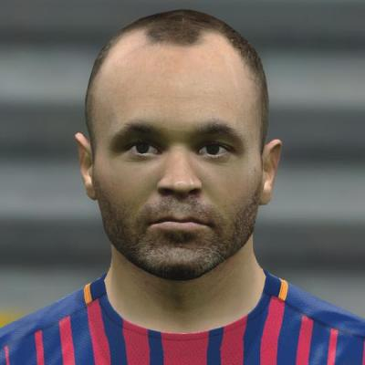 A. Iniesta PES2017 by Jonathan