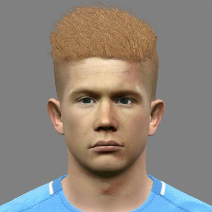 De Bruyne PES2017 by Jonathan