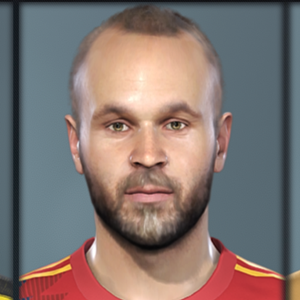 A. Iniesta PES2019 by RobertPes