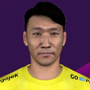 Won-jae Lee PES2017 by GhiffariFM & Mirukuu